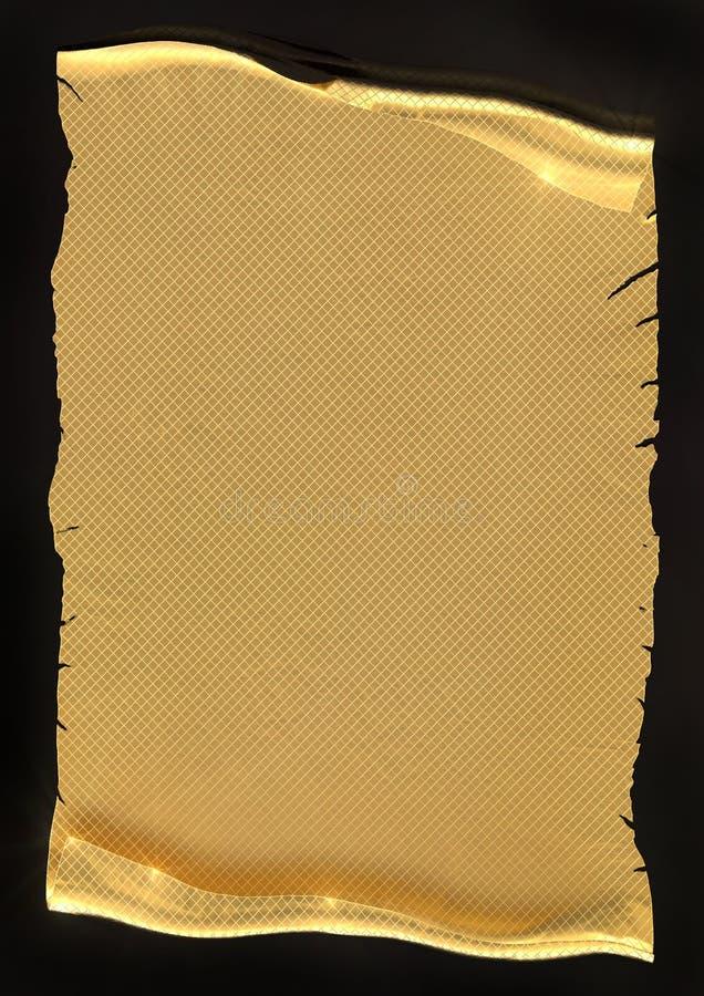 χρυσή περγαμηνή στοκ εικόνες