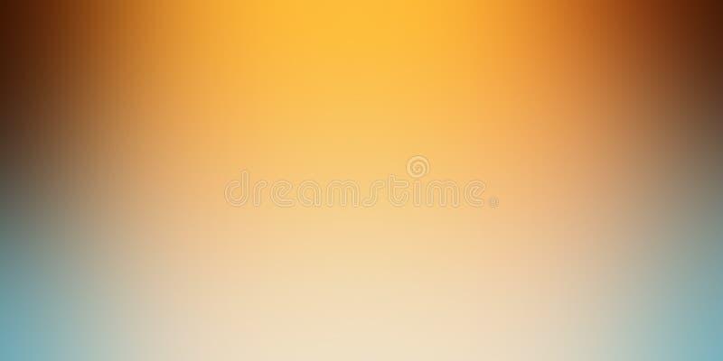 Χρυσή πορτοκαλιά θαμπάδα υποβάθρου μαλακοί κίτρινος μαύρος άσπρος κα απεικόνιση αποθεμάτων