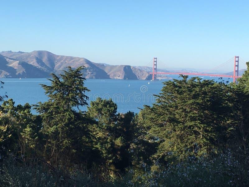 Χρυσή πύλη, ασβέστιο του Σαν Φρανσίσκο στοκ εικόνες με δικαίωμα ελεύθερης χρήσης