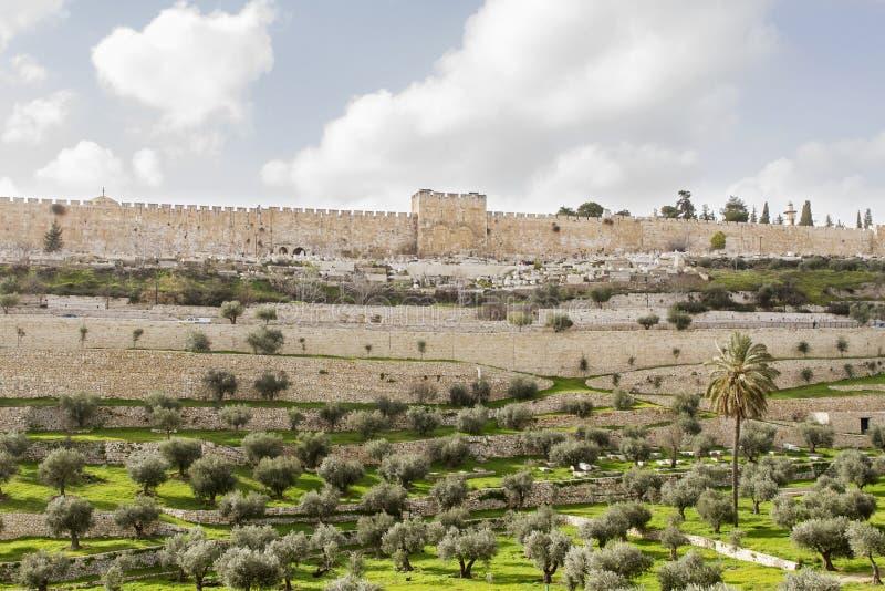 Χρυσή πύλη στην παλαιά πόλη της Ιερουσαλήμ στοκ φωτογραφία