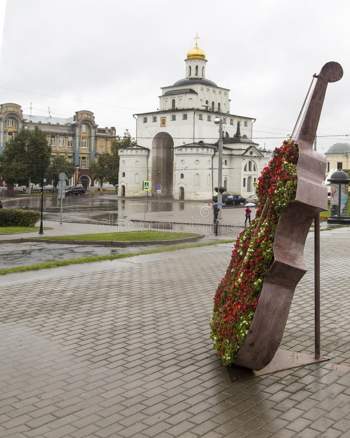 Χρυσή πύλη στο vladimir, Ρωσική Ομοσπονδία στοκ εικόνες