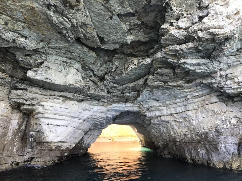 Χρυσή σπηλιά στοκ εικόνες