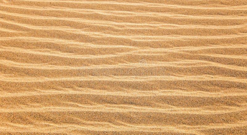Χρυσή σύσταση της άμμου στοκ φωτογραφία με δικαίωμα ελεύθερης χρήσης