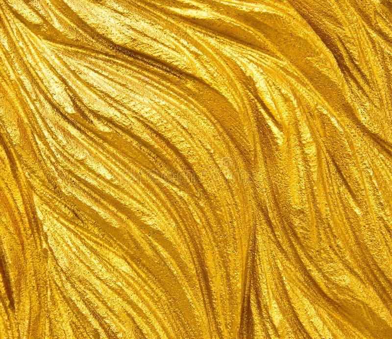 χρυσή σύσταση στοκ εικόνα