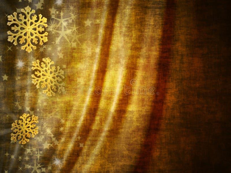 χρυσοί τόνοι Χριστουγένν&omeg στοκ φωτογραφία