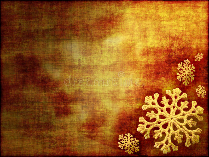 χρυσοί τόνοι Χριστουγένν&omeg στοκ φωτογραφίες