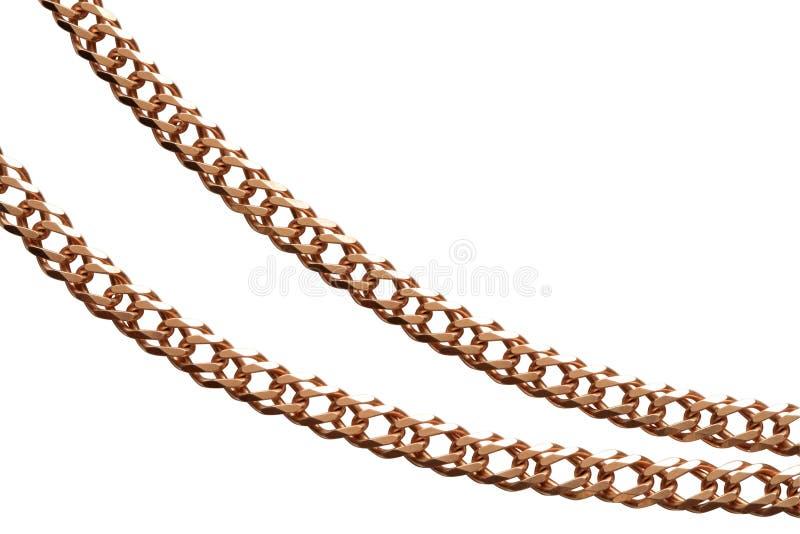 χρυσός αλυσίδων στοκ φωτογραφία με δικαίωμα ελεύθερης χρήσης