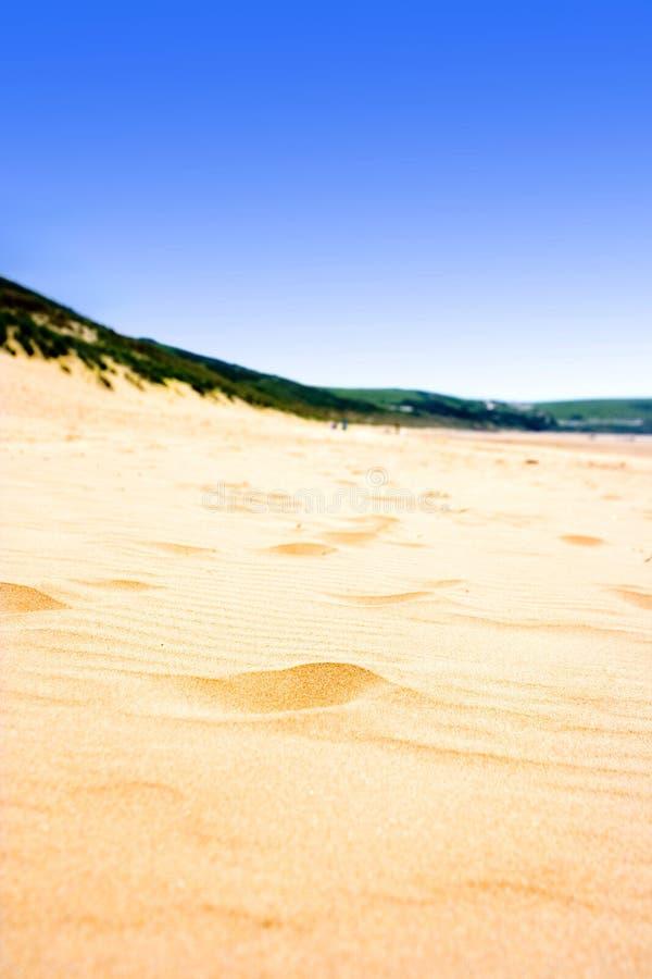 χρυσός αμμώδης παραλιών στοκ εικόνες
