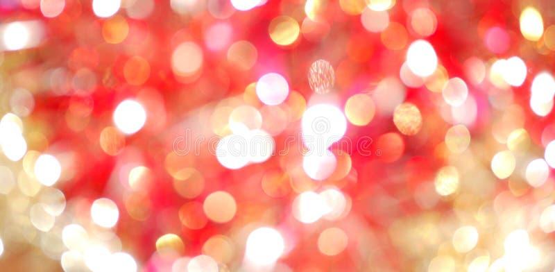 χρυσός θαμπάδων ανοικτό κόκκινο στοκ εικόνες