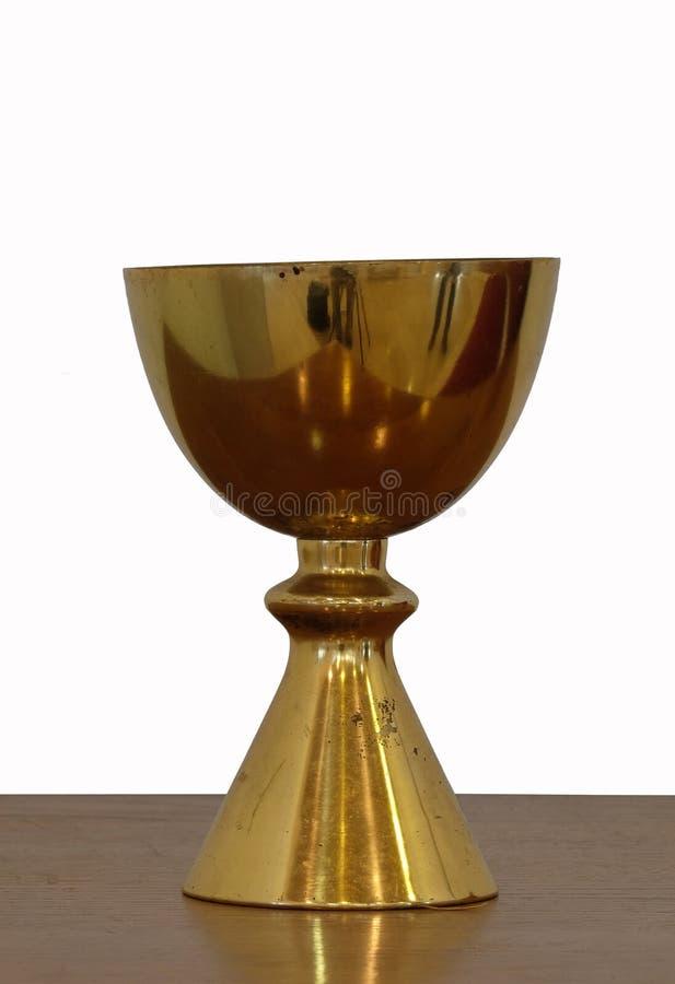 Χρυσός ιερός κάλυκας στοκ φωτογραφίες με δικαίωμα ελεύθερης χρήσης