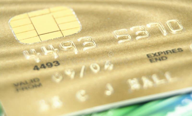 χρυσός καρτών στοκ φωτογραφίες με δικαίωμα ελεύθερης χρήσης