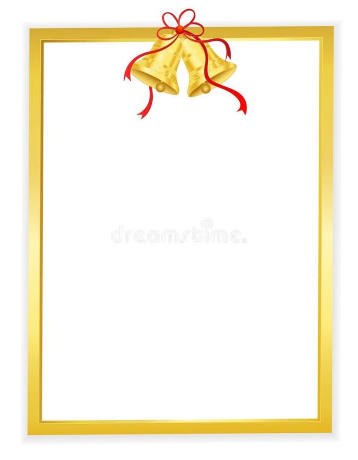 χρυσός κουδουνιών ανασ&ka ελεύθερη απεικόνιση δικαιώματος