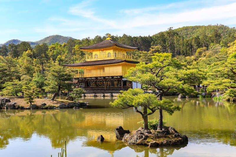 Χρυσός ναός στο Κιότο στοκ εικόνες με δικαίωμα ελεύθερης χρήσης