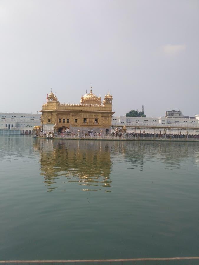 Χρυσός Ναός του Αμριτσάρ, Ινδία στοκ εικόνες