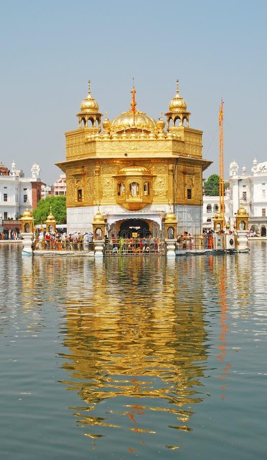 χρυσός ναός στοκ εικόνα με δικαίωμα ελεύθερης χρήσης