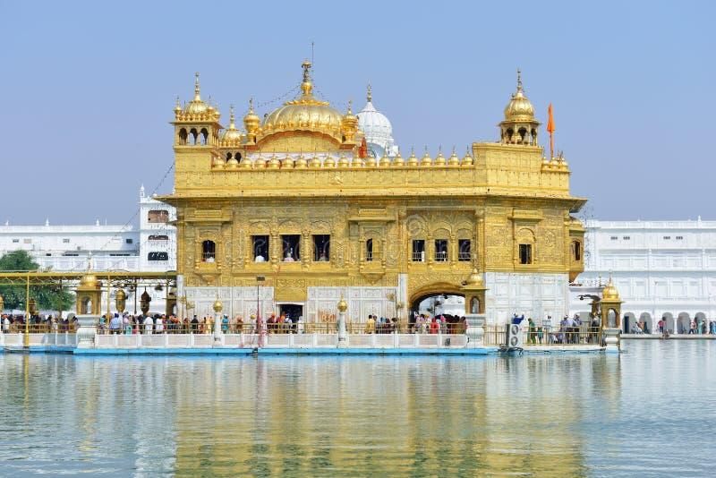 Χρυσός ναός, Amritsar στοκ φωτογραφίες