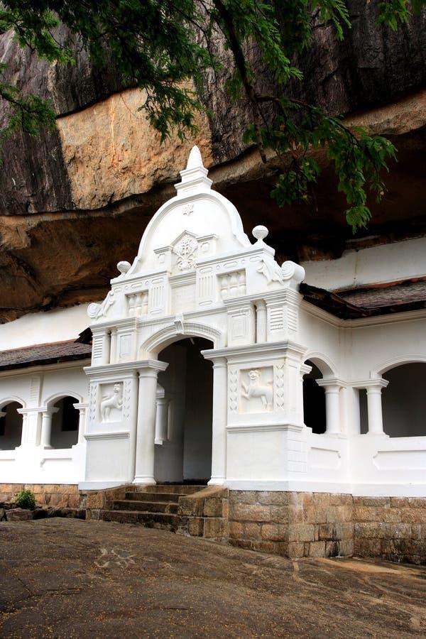 χρυσός ναός dambulla στοκ φωτογραφίες με δικαίωμα ελεύθερης χρήσης