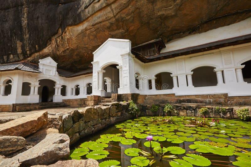Χρυσός ναός Dambulla στοκ εικόνα