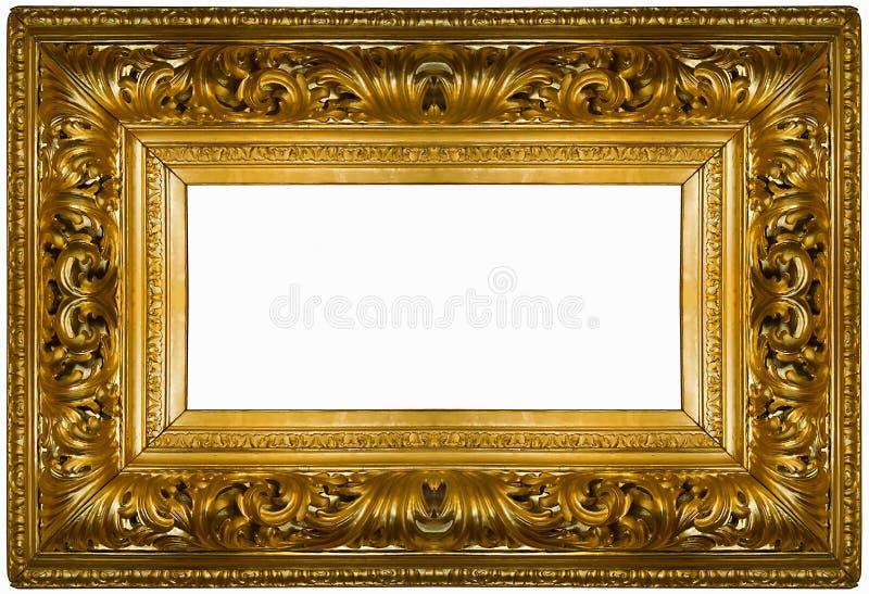 χρυσός παχύς πλαισίων στοκ εικόνες