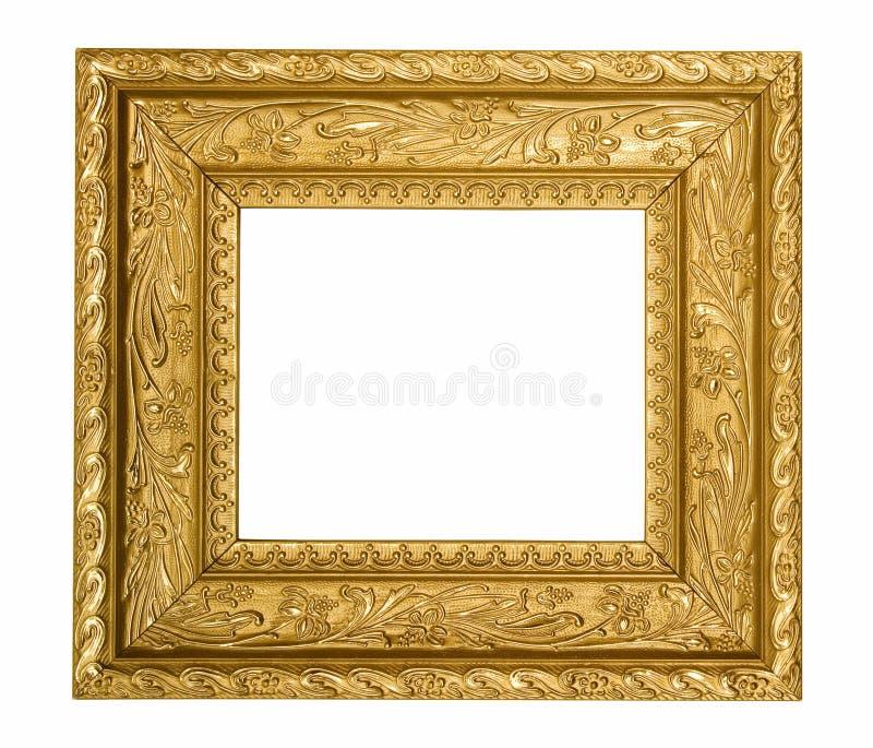 χρυσός περίκομψος τρύγος εικόνων πλαισίων στοκ φωτογραφίες με δικαίωμα ελεύθερης χρήσης