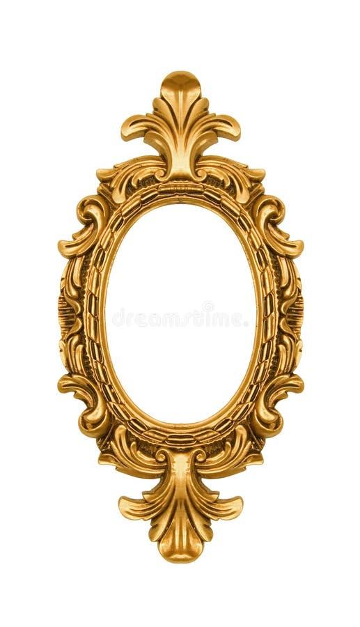 χρυσός περίκομψος ωοει& στοκ εικόνα με δικαίωμα ελεύθερης χρήσης