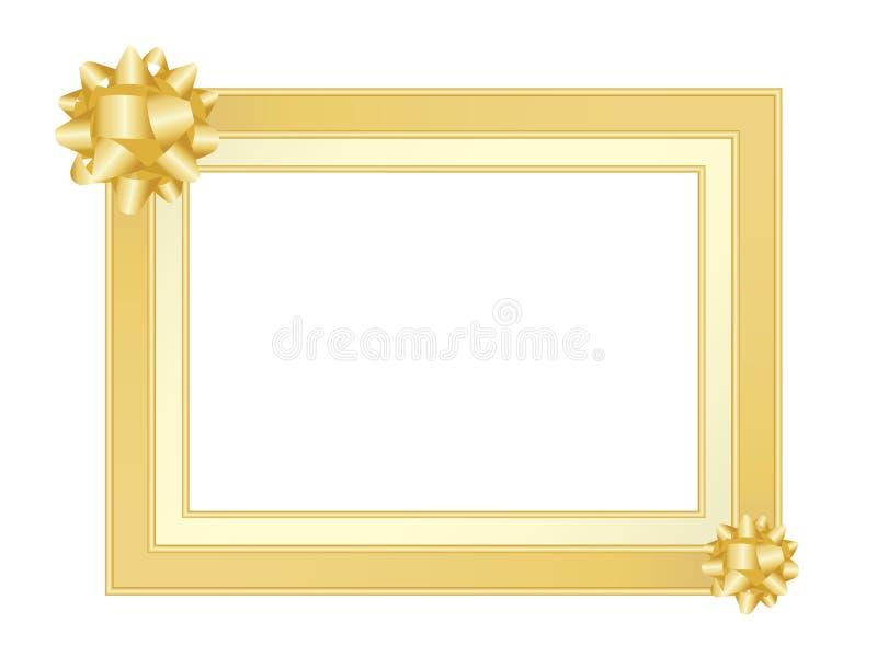 χρυσός πλαισίων τόξων ελεύθερη απεικόνιση δικαιώματος