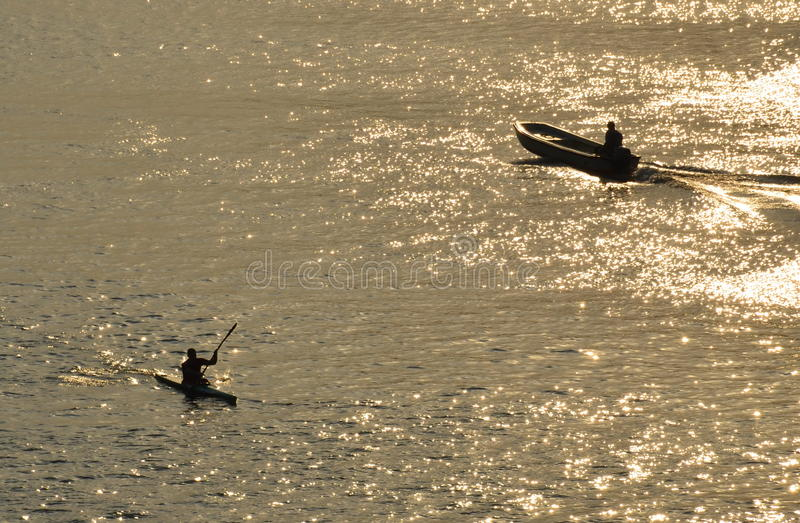 Χρυσός ποταμός στοκ εικόνα με δικαίωμα ελεύθερης χρήσης