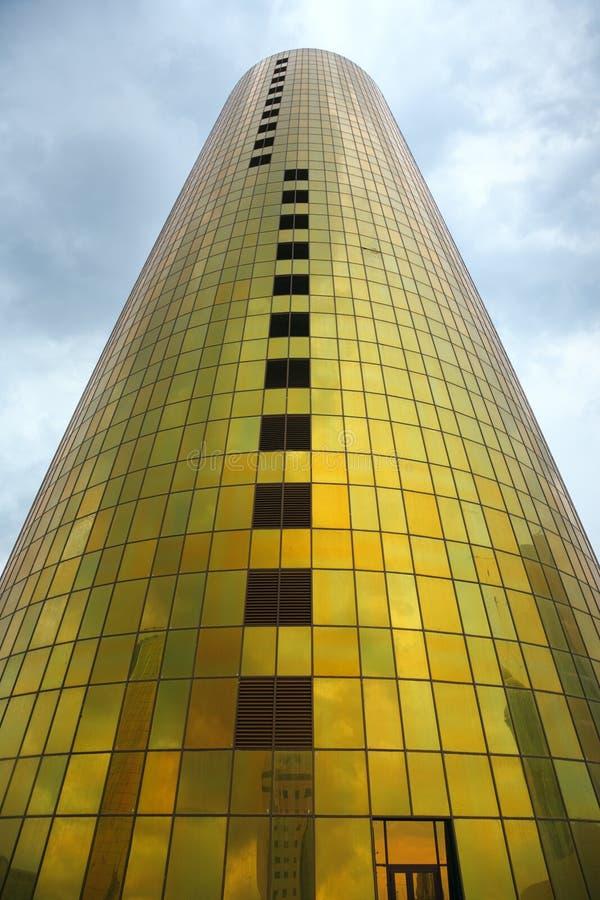 χρυσός πύργος στοκ φωτογραφίες