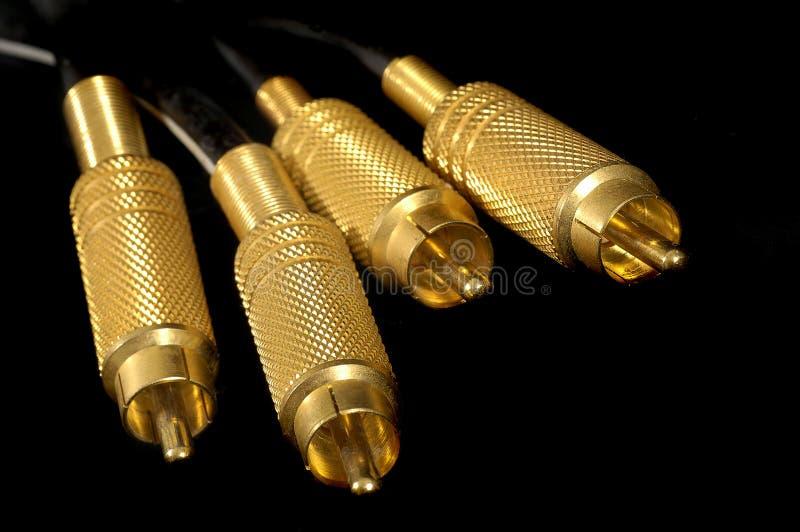 χρυσός συνδέσμων στοκ εικόνες