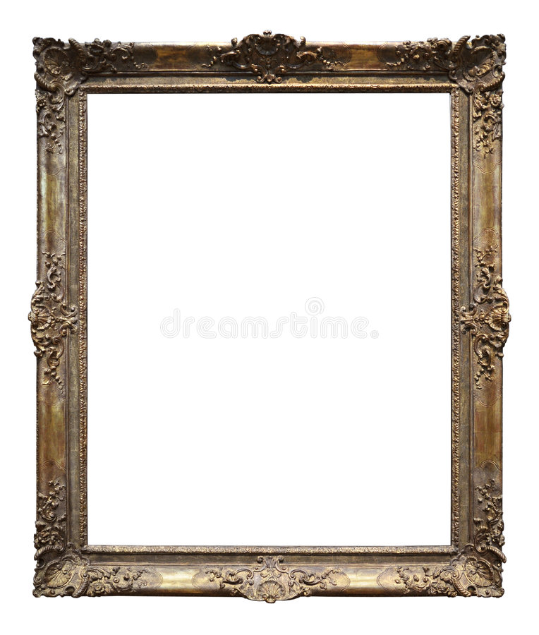 χρυσός τρύγος πλαισίων στοκ εικόνες