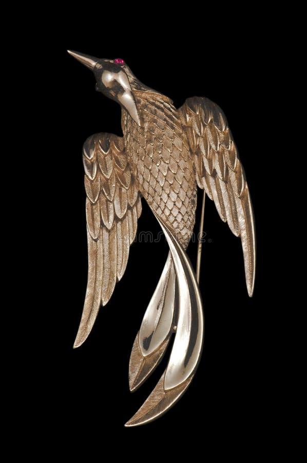 χρυσός τρύγος πορπών πουλ στοκ εικόνες