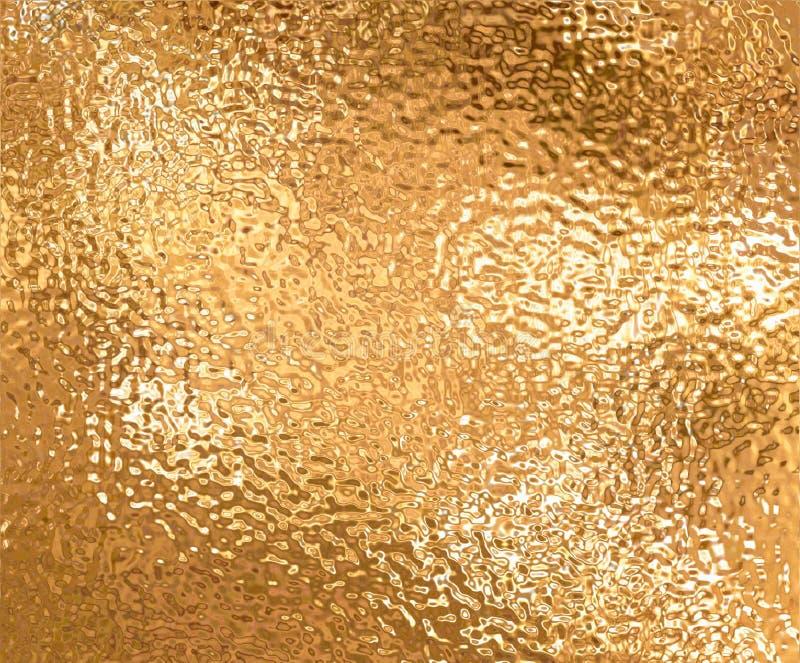 χρυσός φύλλων αλουμινίου ελεύθερη απεικόνιση δικαιώματος