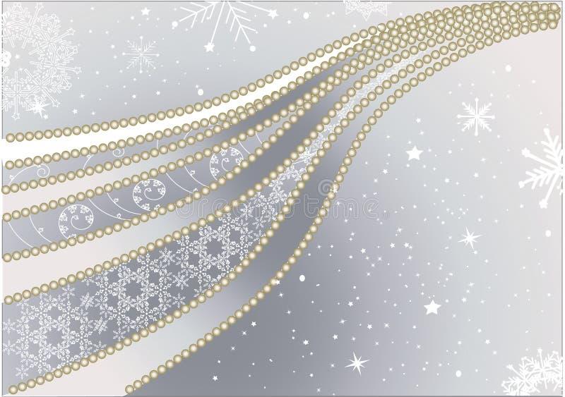 χρυσός Χριστουγέννων ανα&s απεικόνιση αποθεμάτων