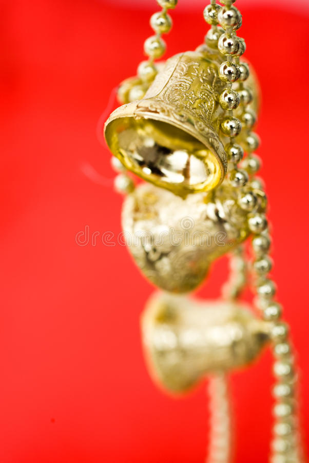 χρυσός Χριστουγέννων κο&ups στοκ φωτογραφία με δικαίωμα ελεύθερης χρήσης