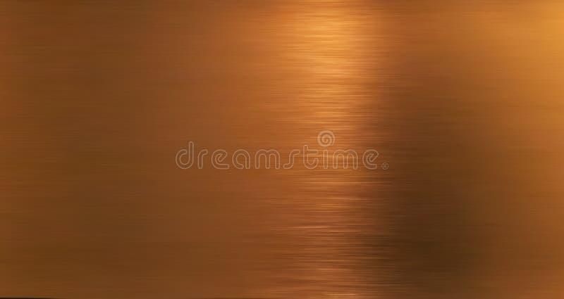 Χρυσός hairline ανοξείδωτος Λαμπρός χρυσός φύλλο αλουμινίου, χαλκός, ή σύσταση επιφάνειας σχεδίων μετάλλων χαλκού Κινηματογράφηση στοκ φωτογραφίες με δικαίωμα ελεύθερης χρήσης