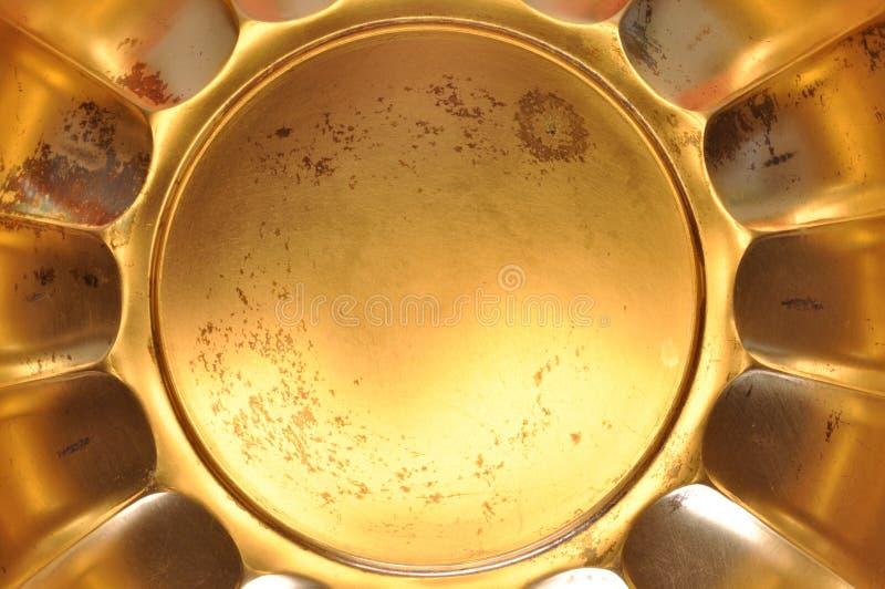 Χρυσό αφηρημένο υπόβαθρο μετάλλων στοκ φωτογραφία με δικαίωμα ελεύθερης χρήσης