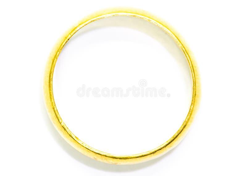 Χρυσό δαχτυλίδι στοκ εικόνα