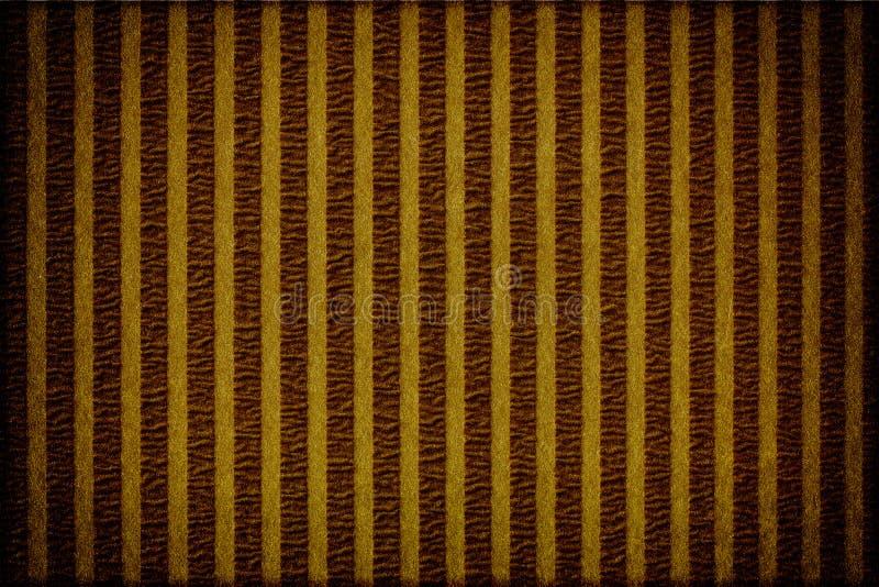 Χρυσό εκλεκτής ποιότητας έγγραφο σύστασης λωρίδων διανυσματική απεικόνιση