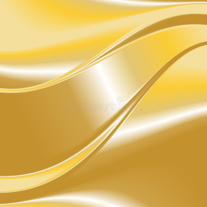 Χρυσό διάνυσμα 6 υποβάθρου διανυσματική απεικόνιση