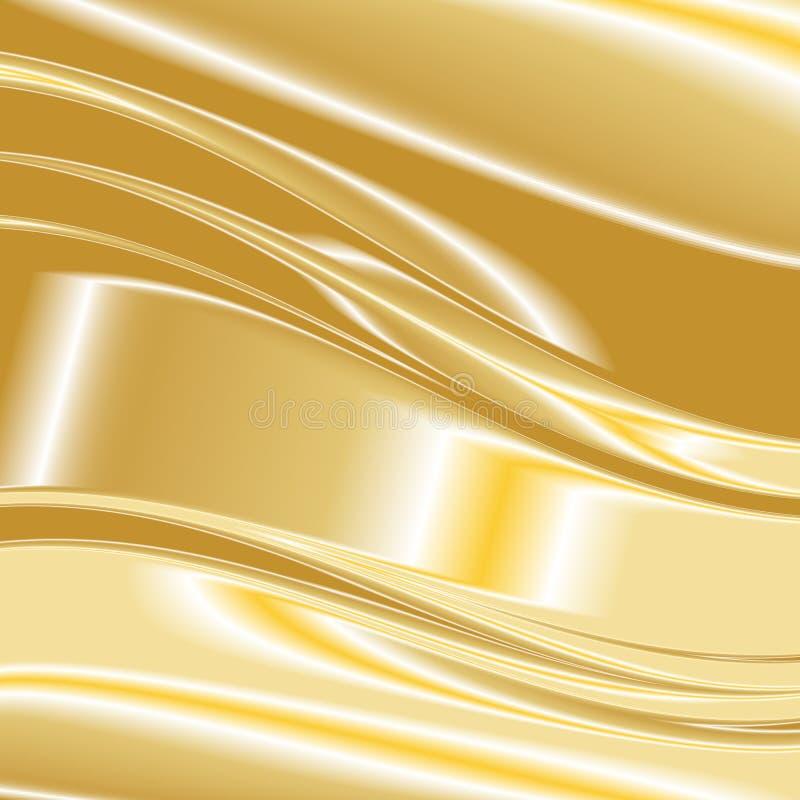Χρυσό διάνυσμα 9 υποβάθρου απεικόνιση αποθεμάτων