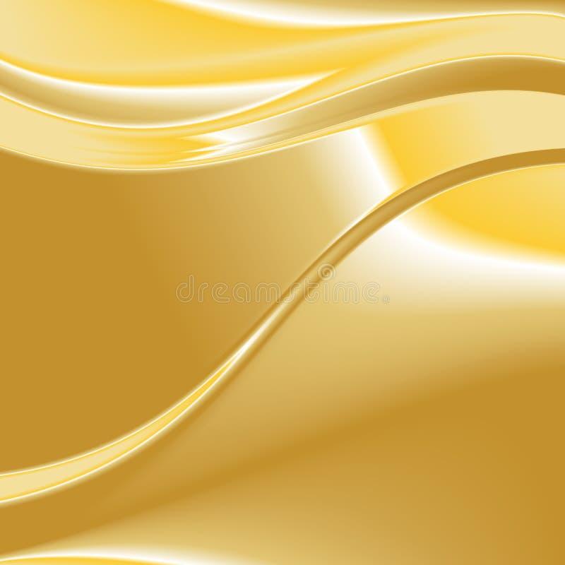 Χρυσό διάνυσμα 1 υποβάθρου απεικόνιση αποθεμάτων