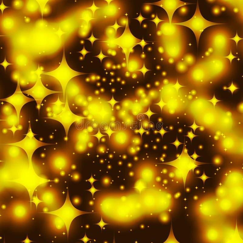 χρυσό διαστημικό αστέρι ελεύθερη απεικόνιση δικαιώματος