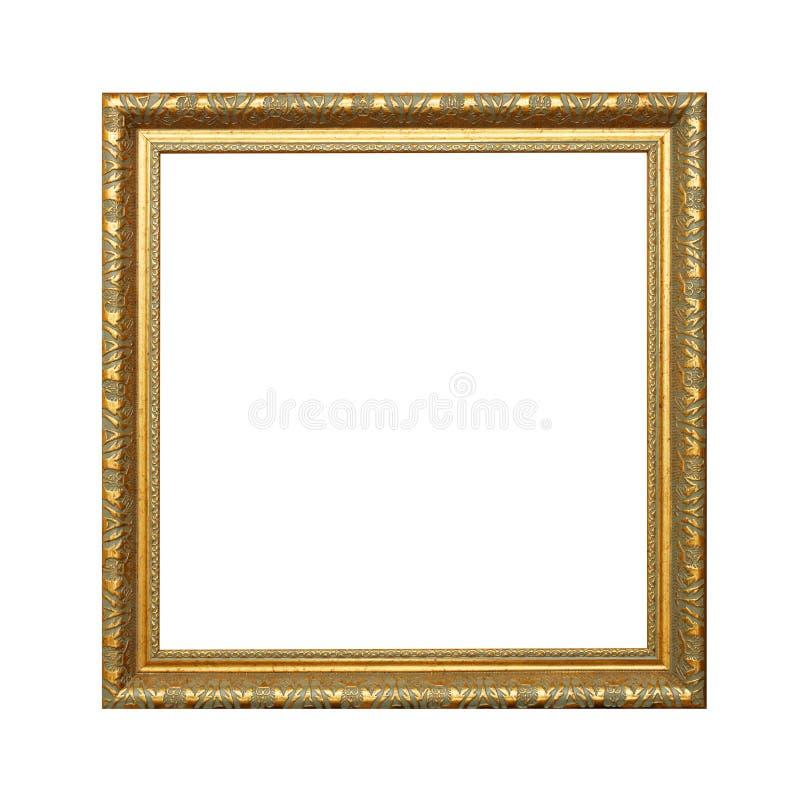 χρυσό λευκό μονοπατιών πλ& στοκ φωτογραφίες