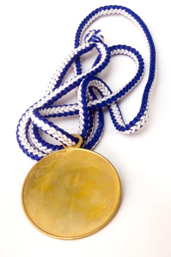 Download χρυσό μετάλλιο στοκ εικόνα. εικόνα από καλύτερα, ήπια - 1544561