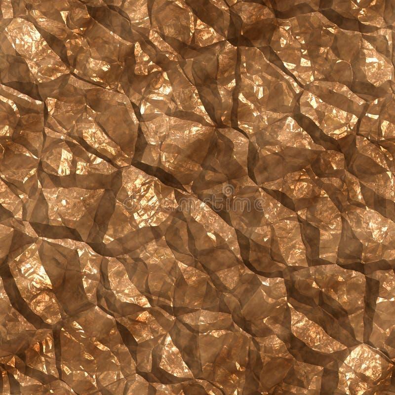 Χρυσό μετάλλευμα διανυσματική απεικόνιση