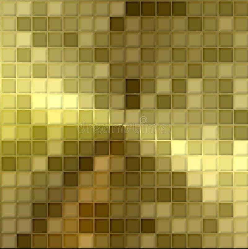 χρυσό μωσαϊκό απεικόνιση αποθεμάτων
