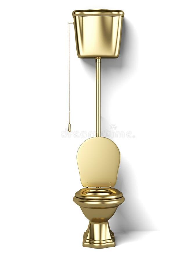 Χρυσό νερό κλειστό ελεύθερη απεικόνιση δικαιώματος