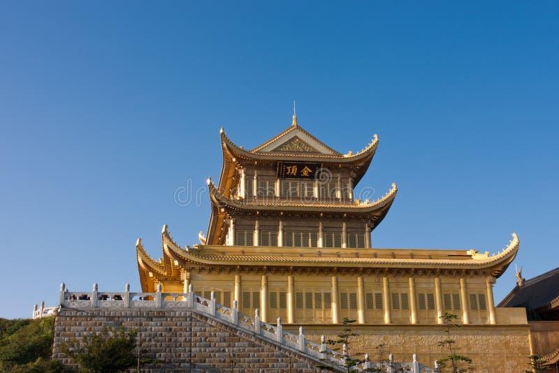 χρυσό παλάτι στοκ εικόνες