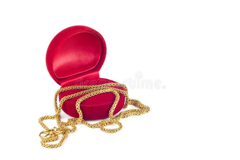 χρυσό περιδέραιο κοσμημάτ στοκ φωτογραφία με δικαίωμα ελεύθερης χρήσης