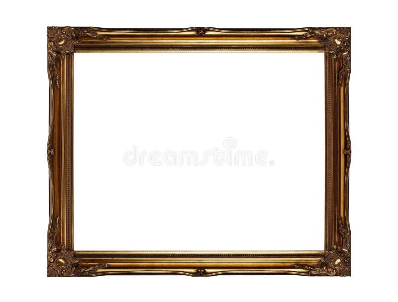 Χρυσό πλαίσιο εικόνων στοκ φωτογραφία με δικαίωμα ελεύθερης χρήσης